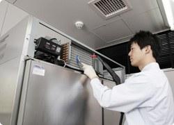 冷凍・冷蔵庫・熱交換器クリーニング画像