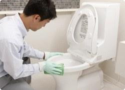トイレ・洗面所クリーニング画像